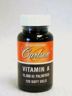 Carlson Lab's Vitamin A Palmitate 15000 Iu 120 Gels