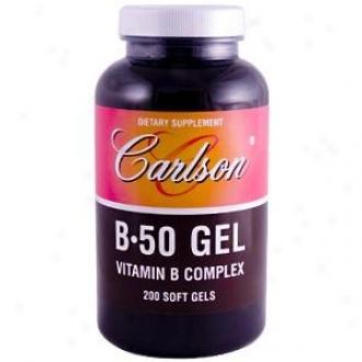 Carlson's B 50 Gel 200sg