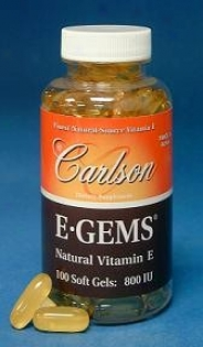 Carlson's E Gems 800 Iu 100sg