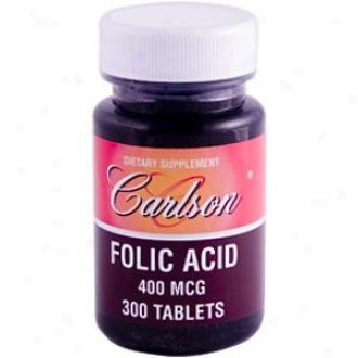 Carlson's Folic Acid 400mcg 300tabs