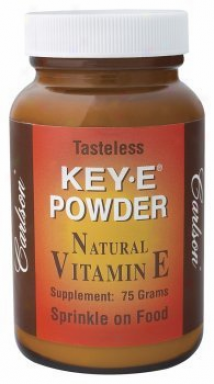 Carlson's Key E Powder (pure Natural Vit E) 75gm