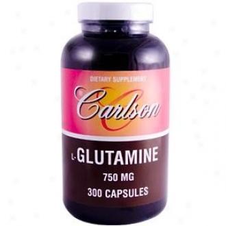 Carlson's L-glutamine 750mg 300caps