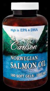 Carlson's Norw Salmon Oil 180sg