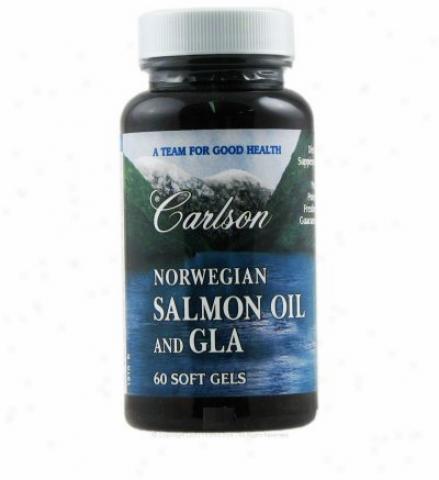 Carlson's Norwegian Salmpn Oil & Gla 60sg
