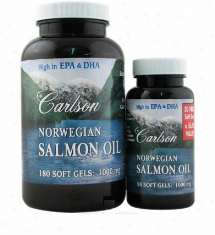 Carlson's Norwegian Salmon Oil (supp Cardiovascular Soundness) 180sg