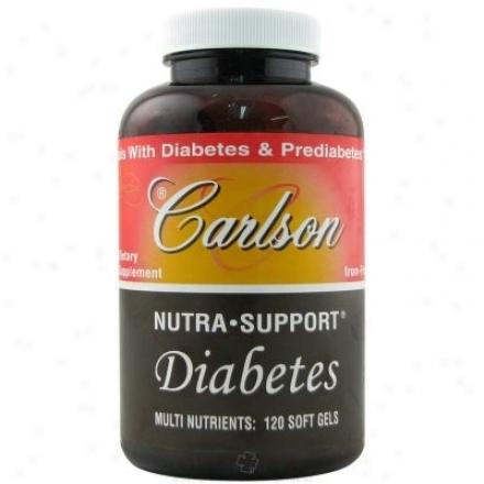 Carlson's Nura-support Diabetes Iron-free 180sg