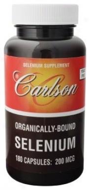 Carlson's Selenium 200mcg (org L-selenomethionine Yeast Free) 180caps