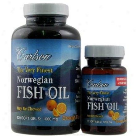 Carlson's Very Finest Norwegian Fish Oil 150sg