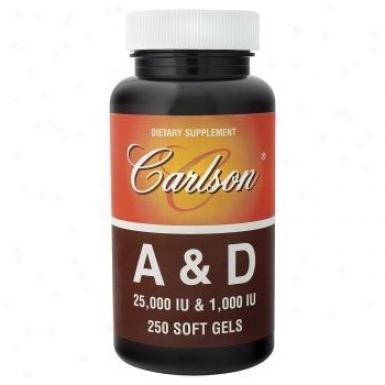 Carlson's Vit A+ D 25000/ 1000 Iu 250sg