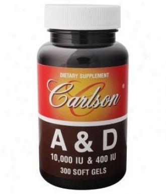 Carlson's Vit A+d 10,000/400 Iu 300sg