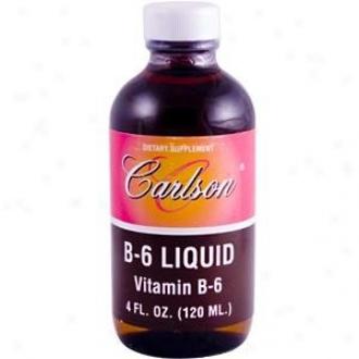 Carlson's Vitamin B-6 Liq 4oz