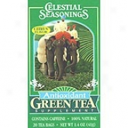Celestial Seasoning's Antioxidant Green Tea 20bags