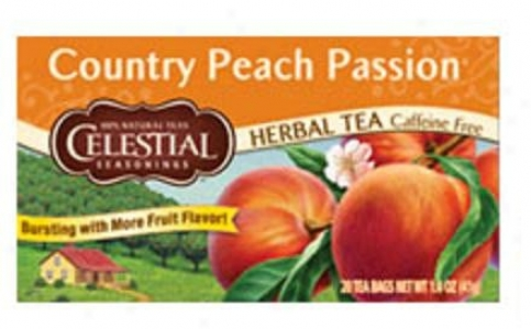 Celestial Seasoning's Country Peach Passion Herb Tea 20bags