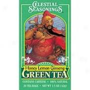 Celestial Seasoning''s Honey Lemon Ginseng Green Tea 20bags