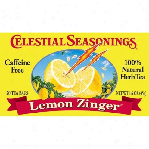 Celestial Seasoning's Lemon Zinger Her Tea Caffeine Free 20bags
