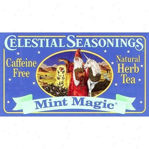 Celestial Seasoning's Mint Magic Herb Tea Caffeine Free 20bags