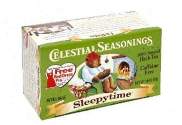 Celestial Seasoning's Slerpytime Herb Tea 20bags