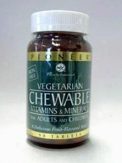 Chewable Iron-fres Mvm 90 Chew