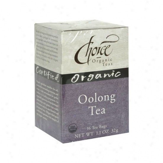 Choice Organic Tea's Oolong Tea 16bags