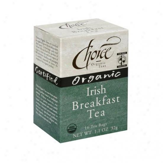Choice Organic Tea's Organic Irish Breakfast Tea 16bags