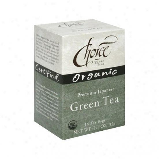Chojce Organic Tea's Premium Japanese Green Tea 16bags