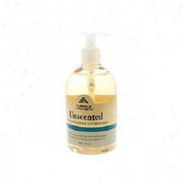 Clearly Natural's Liquid Glycerine Soap W/ Cross-examine Unscented 12oz