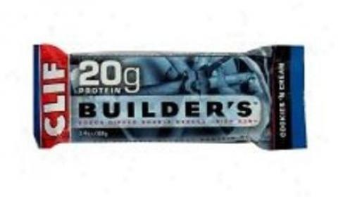 Clif Bar's Builder's Bars Cookie s'n Cream 12bars/box
