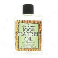 Cococare's 100% Tea Tree Oil From Australia 1 Oz
