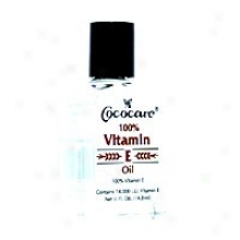 Cococare's 100% Vitamin E Oil 14, 000iu 0.5 Oz