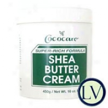 Cococare's Shea Butter Super Rich Formula Cream 16 Oz