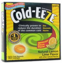 Cold Eeze's Lozenge Lem/lim/citrus 18pc