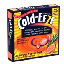 Cold Eeze's Lozenge Tropical Feuit 18pc