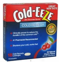 Cold Eeze's Lozenges Cherry 18pc