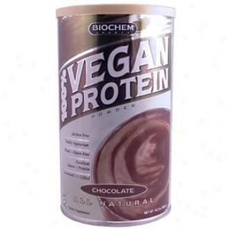 Country Life's Biochem 100% Vegan Protein Powder Choc 16.2oz