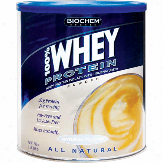 Country Life's Biochem 100% Whey Protein Vanel 24oz