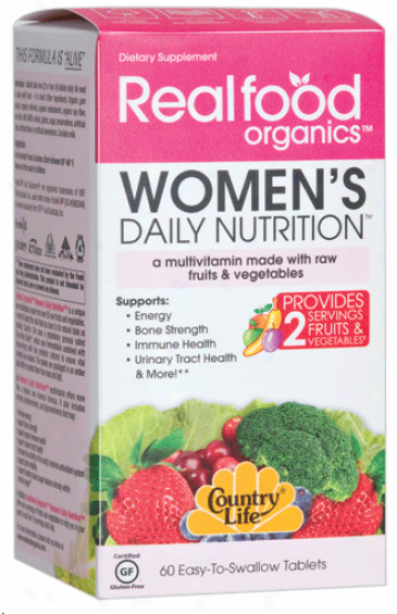 Country Life's Women's Daily Nutrition 60 Tabs