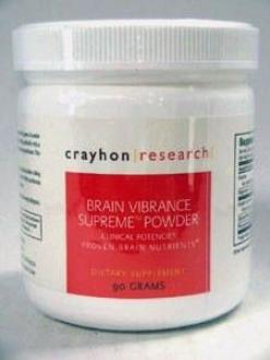 Crayhon Research's  Brain Vibrance Supreme Powder 90 Gms