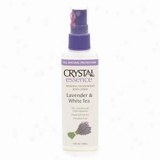 Crystal Body Deodorant's Crystal Essence Lavndr Scntd Spray Deodrnt 4oz
