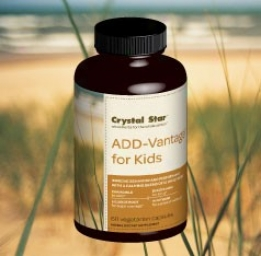 Crystal Star's Add Vantage For Kids 60caps