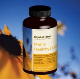 Crystal Star's Men's Healthy Libido 60vcaps