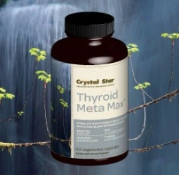 Crystal Star's Thyroid Meta Max 60caps