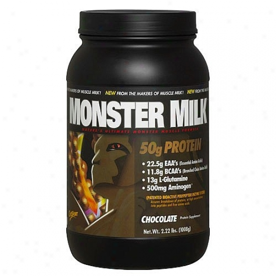Cytosport's Monster Milk Banana Chocolate 2.2lb