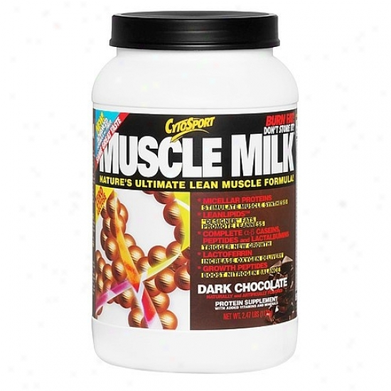 Cytosport's Muscle Milk Dark Chocolate 2.48lb