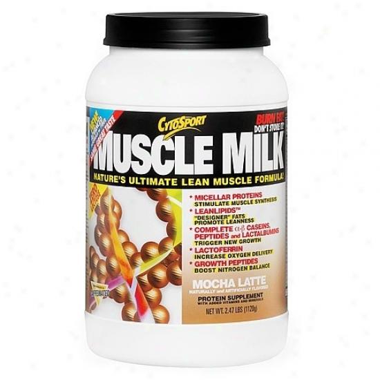 Cytosport's Muscle Mik Mocha Latte 2.48lb