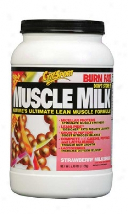 Cytosport's Myscle Milk Strawberry Powder  2.48lb