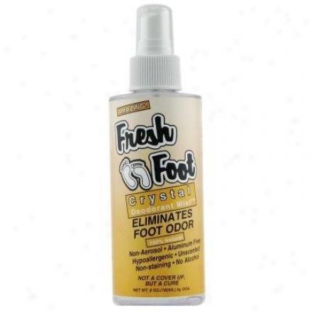 Deodorant Stone's Thai Fresh Foo tCrystal Deodorant Mist 6 Fl Oz