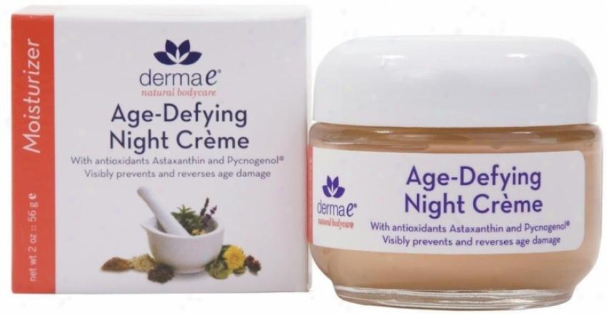 Derma-e's (Century Defying) Astasanthin & Pycnogenol Night Creme 2oz