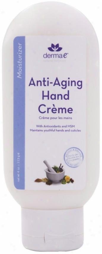 Derma-e's Age-reversal Hand Creme 4oz