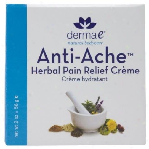 Derma-e's Anti-ache Herbal Pain Relief Creme 2oz