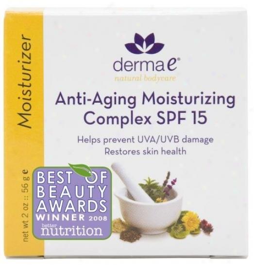 Derma-e's Anti-aging Moisturizing Complicated Spf-15 2oz